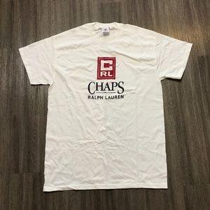 Vintage Chaps Ralph Lauren White T-Shirt